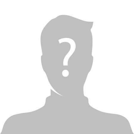 Imagen del perfil vector Foto de archivo - 80934358