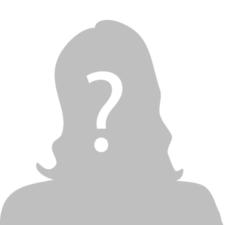 unknown gender: Profile picture - anonymous vector