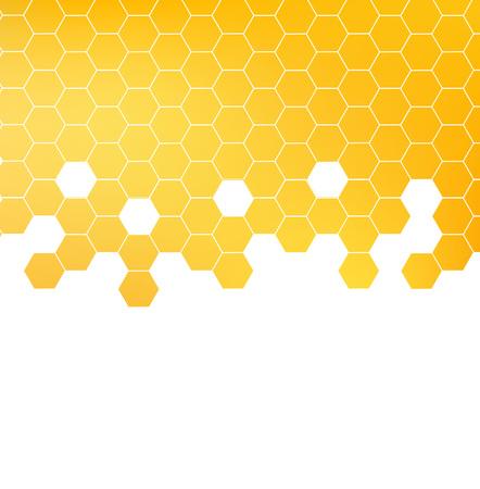 蜂蜜パターン ベクトル