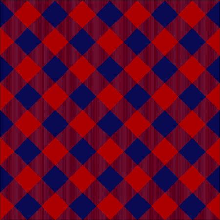 Lumberjack plaid pattern. Illustration