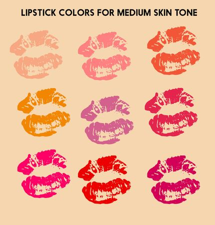 Ideal lipstick colors for olive skin tone