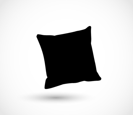Pillow icon vector Stock Illustratie