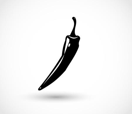 Vector pepper chili Illustration