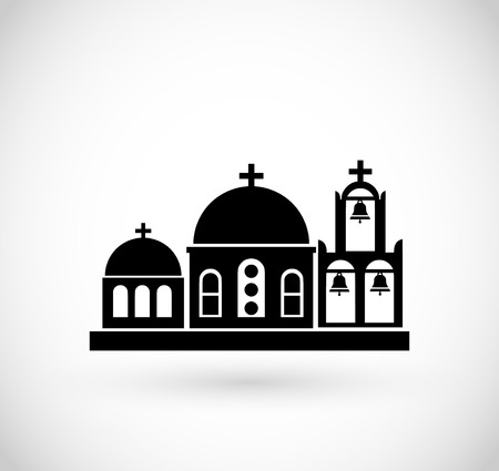 Greek Church icon vector