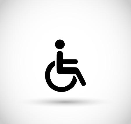 Handicap icon Vector illustration.