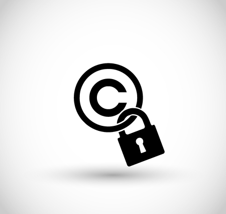 Copyright sign vector Illustration