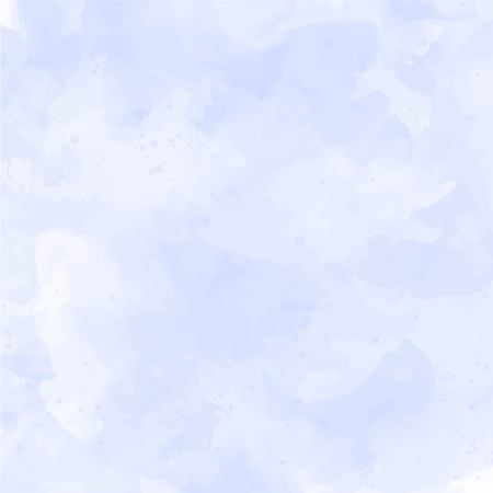 Blue, violet watercolor background Vector illustration.