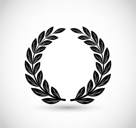 Laurel vector icon Vettoriali