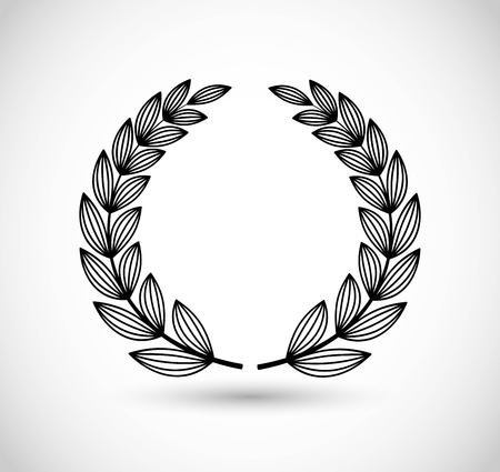 Laurel vector icon Vectores