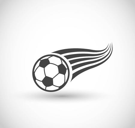 Football, goal icon vector