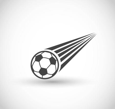 Football, goal icon vector