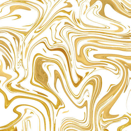 Gold-white marble background