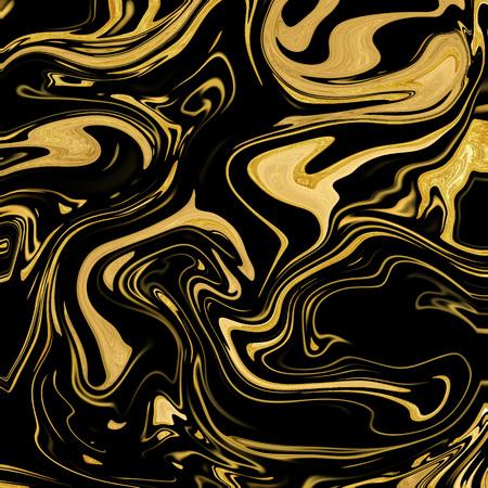 Gold-black marble background Zdjęcie Seryjne