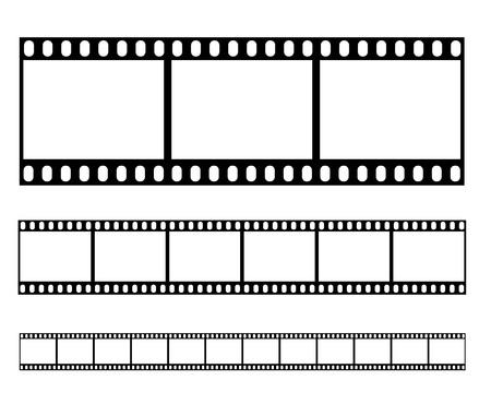 Filmstrip illustration vector Vector Illustration