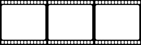 Filmstrip illustration vector