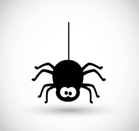 Spider vector icon