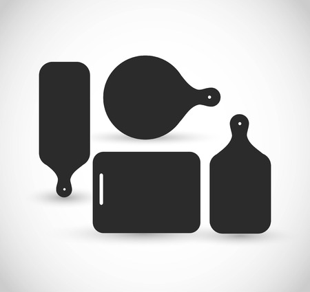Cutting board vector icon