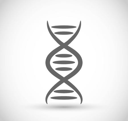 DNA code icon vector Ilustracja