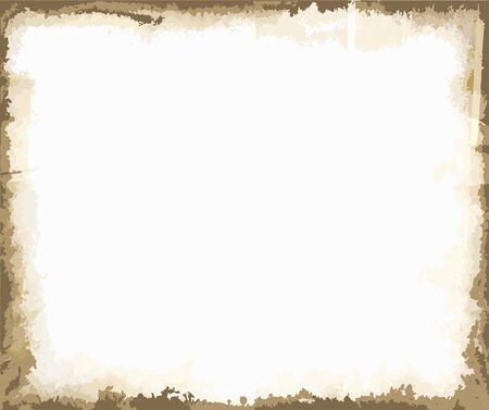 Rust background frame with copy space vector Ilustracja