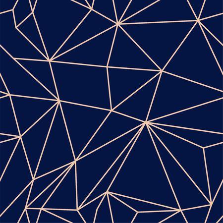 Geometric modern line seamless vector pattern