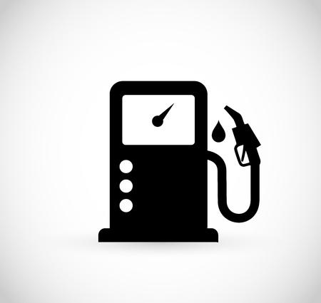 Petrol vector icon simple illustration