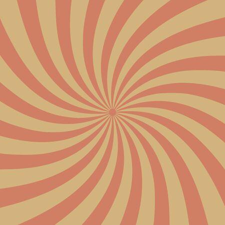 Beau vecteur de fond starburst vintage, rétro grunge