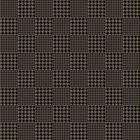 Traditional houndstooth checkered plaid vector pattern  イラスト・ベクター素材