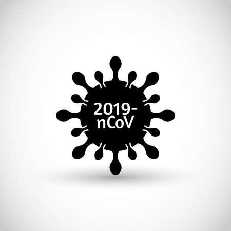 Coronavirus vector icon sign symbol