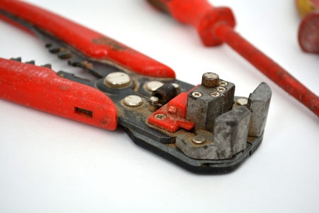 wire cutters: electricians wire cutters