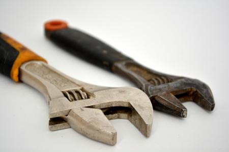 adjustable: adjustable spanners Stock Photo