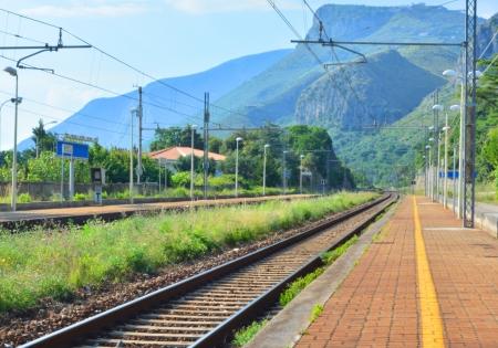 grass verge: Stazione ferroviaria