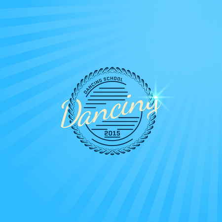 rnb: Dancing badge Illustration