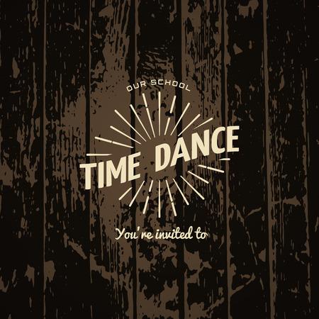 dance time: Time dance badge