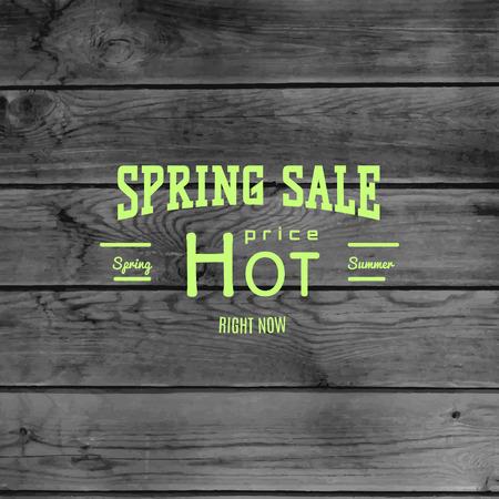 Spring sale Abzeichen und Etiketten Standard-Bild - 39920630