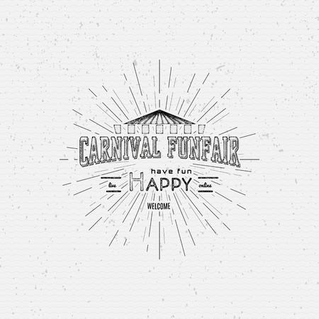Carnaval badges labels voor elk gebruik, op een witte achtergrond