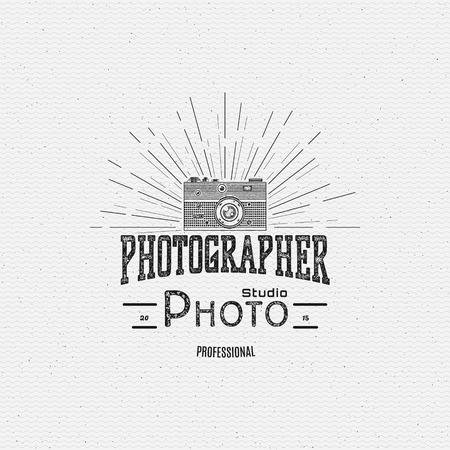 Badges de photographie et des étiquettes pour toute utilisation, sur un fond blanc Banque d'images - 40912927