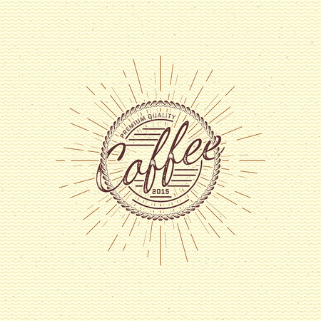 finest: Coffee badges  and labels for any use, on a white background.