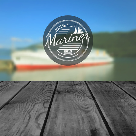 barque: Mariner club badges and labels for any use
