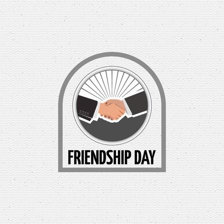 eg: Friendship day badges   labels for any use, eg for design of cards or presentations Illustration