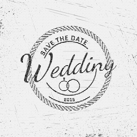 stamp collection: Wedding badges cards and labels, can be used to design wedding cards, presentations, invitations