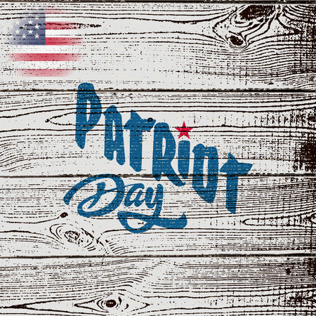 patriot: Patriot day badges logos and labels It can be used to design greeting card, invitation, sales, and discounts Vettoriali