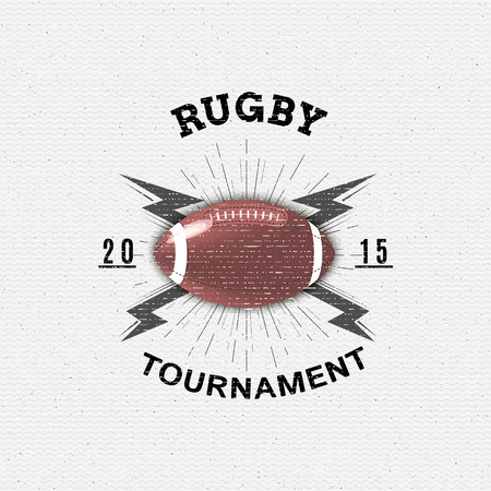 rugby team: Rugby badges  and labels can be used for design, presentations, brochures, flyers, sports equipment, corporate identity, sales