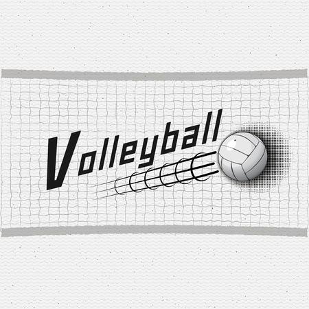 Insignes de volley-ball logos et étiquettes peuvent être utilisées pour la conception, présentations, brochures, prospectus, impression, matériel de sport, l'identité de l'entreprise, les ventes Banque d'images - 44123899