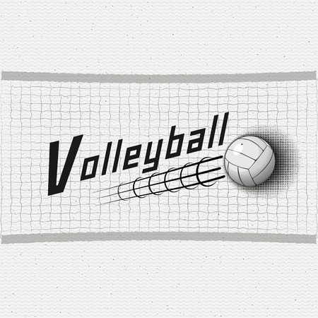 be the identity: Volleyball badges logos and labels can be used for design, presentations, brochures, flyers, print, sports equipment, corporate identity, sales Illustration