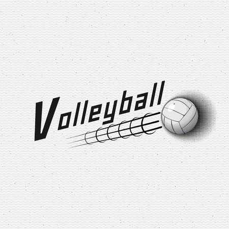 Volleyball badges logos and labels can be used for design, presentations, brochures, flyers, print, sports equipment, corporate identity, sales