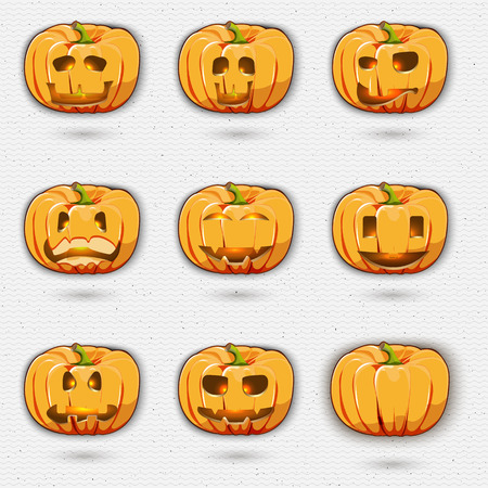 be the identity: Happy Halloween badges logos and labels can be used for design, presentations, brochures, flyers, print, sports equipment, corporate identity, sales