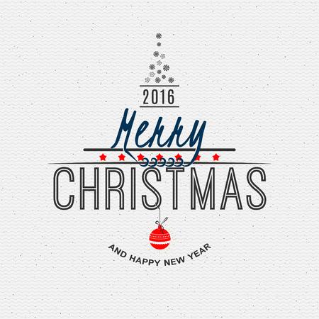 joyeux noel: Joyeux No�l et bonne ann�e 2016 des insignes et des �tiquettes pour tout usage