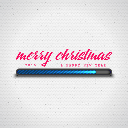progress bar: Merry Christmas Loading It can be used for the design of sites cards and other products