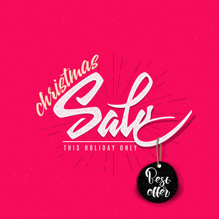 shoestring: Christmas sale, tag on a shoestring It can be used for product design during the discounts and sales