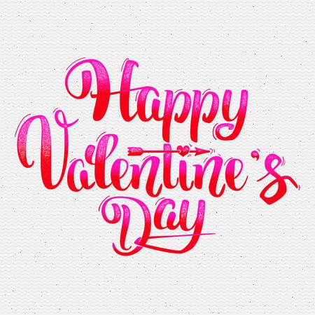 Glücklicher Valentinsgrußtag Beschriftung Optionen kann es verwendet werden Grußkarte zu entwerfen Standard-Bild - 49487471